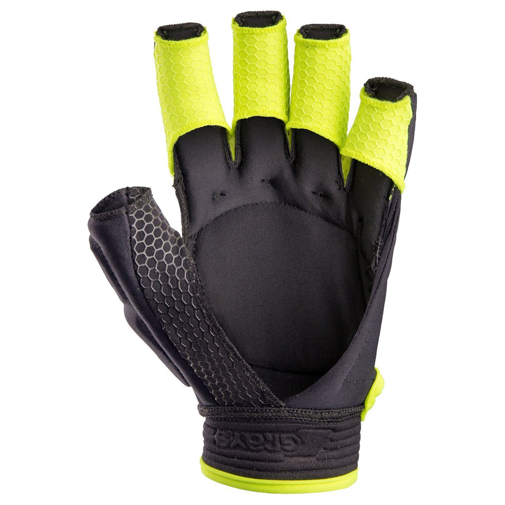 Touch PRO Black/Fluo Yellow Right Hand | The Hockey Centre