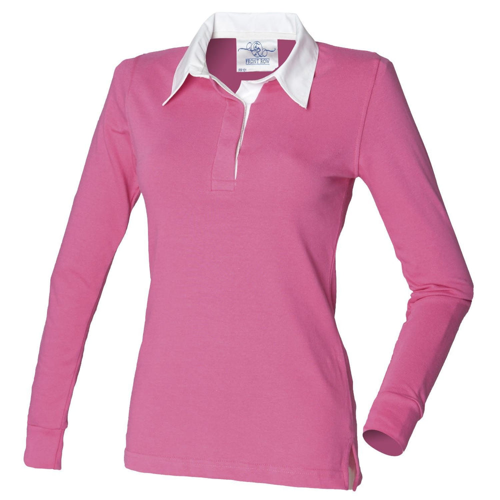 Front Row Ladies Classic Rugby Shirt