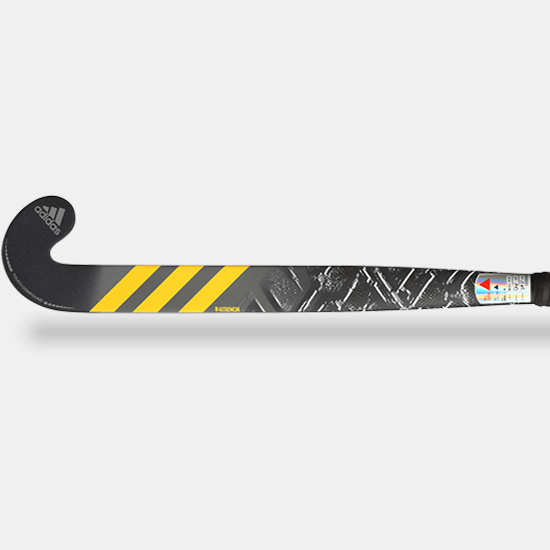 Adidas AX24 Compo 1 2019 Black Grey Yellow Face
