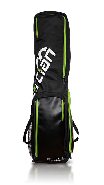 Evolution 0.1 Stick/Kit Bag Black/Green 2016 | The Hockey Centre