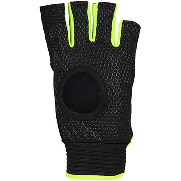 Anatomic PRO Black/Fluo Yellow Left Hand | The Hockey Centre