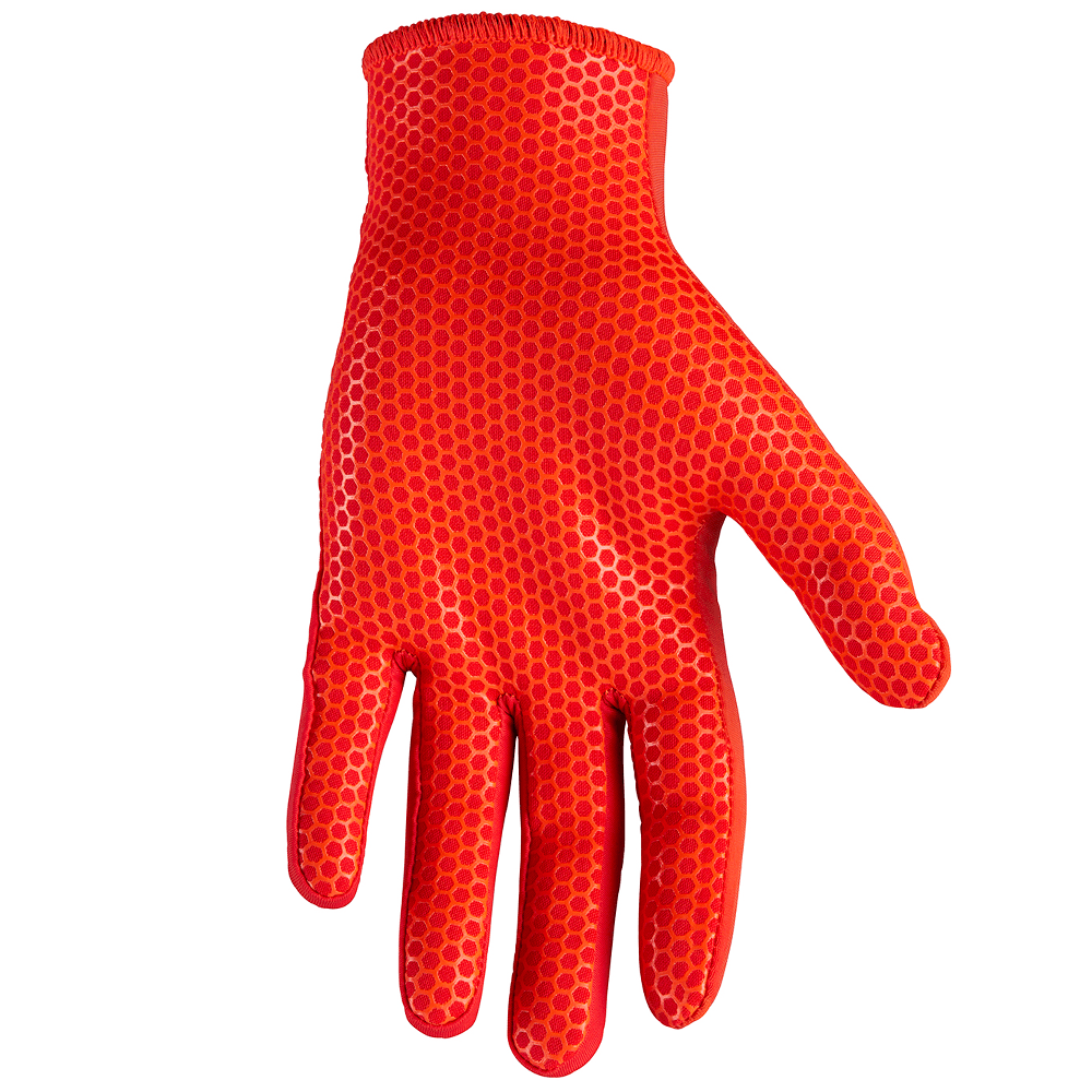 Skinfull PRO Glove Fluo Red PAIR | The Hockey Centre