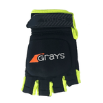 Grays Touch Glove 2019 Black FluoYellow Left Hand Back