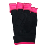 Grays Hockey Touch Glove Right Hand Black Pink Palm