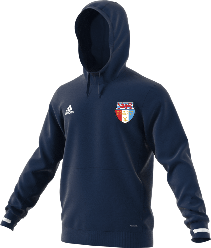 Luxembourg HC Adidas Navy Hooded Top | The Hockey Centre