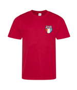 Luxembourg Hockey Junior T-Shirt Red
