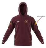 OGHC T19 Unisex Adidas Hoody - Maroon | The Hockey Centre