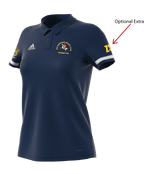 OGHC T19 Womens Adidas Polo Shirt - Navy | The Hockey Centre
