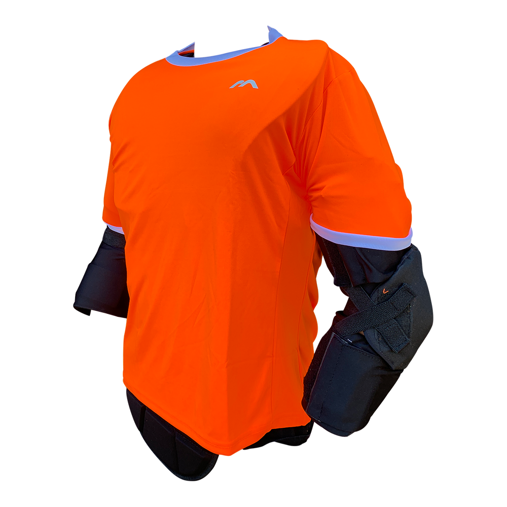 Pro Smock Orange Short Sleeved