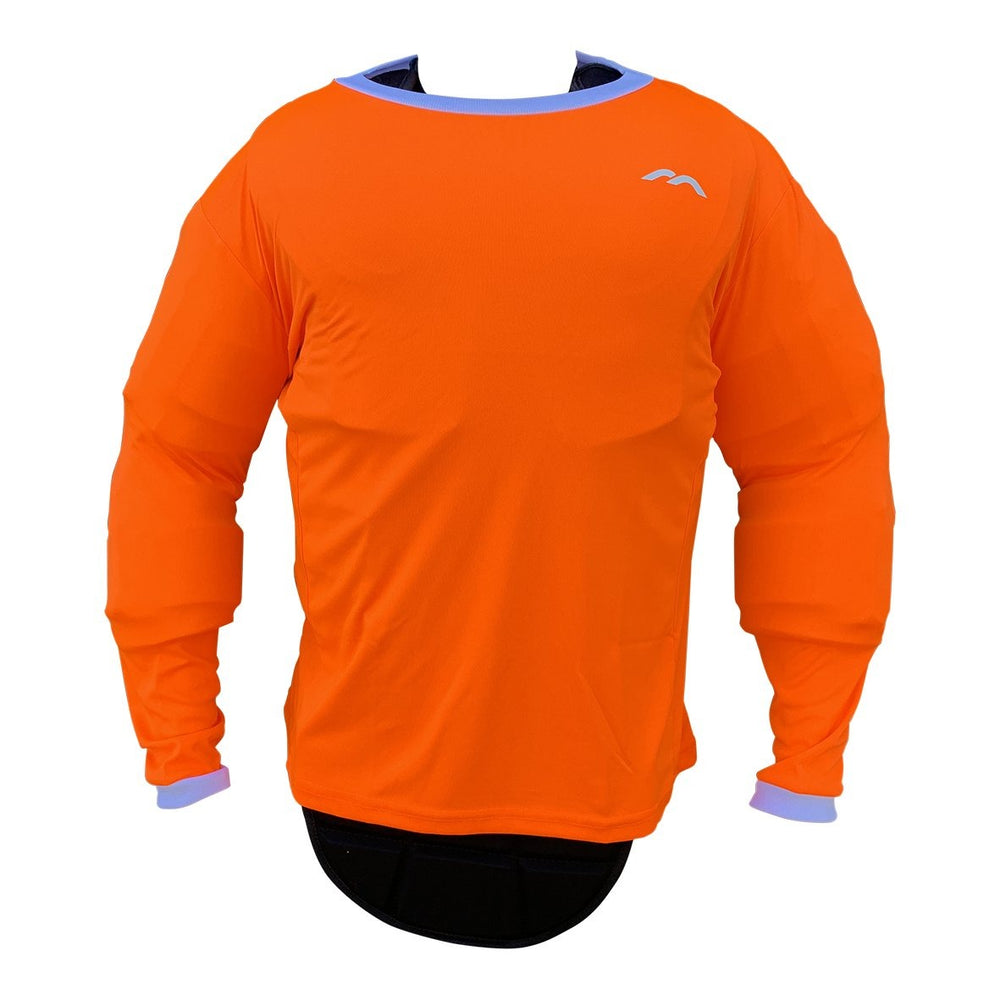 Pro Smock Orange Long Sleeved