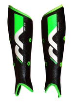 Genesis 0.2 Shinguards Black/Green