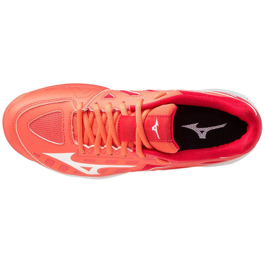 Mizuno Wave Lynx Junior Hot Coral (2020) | The Hockey Centre