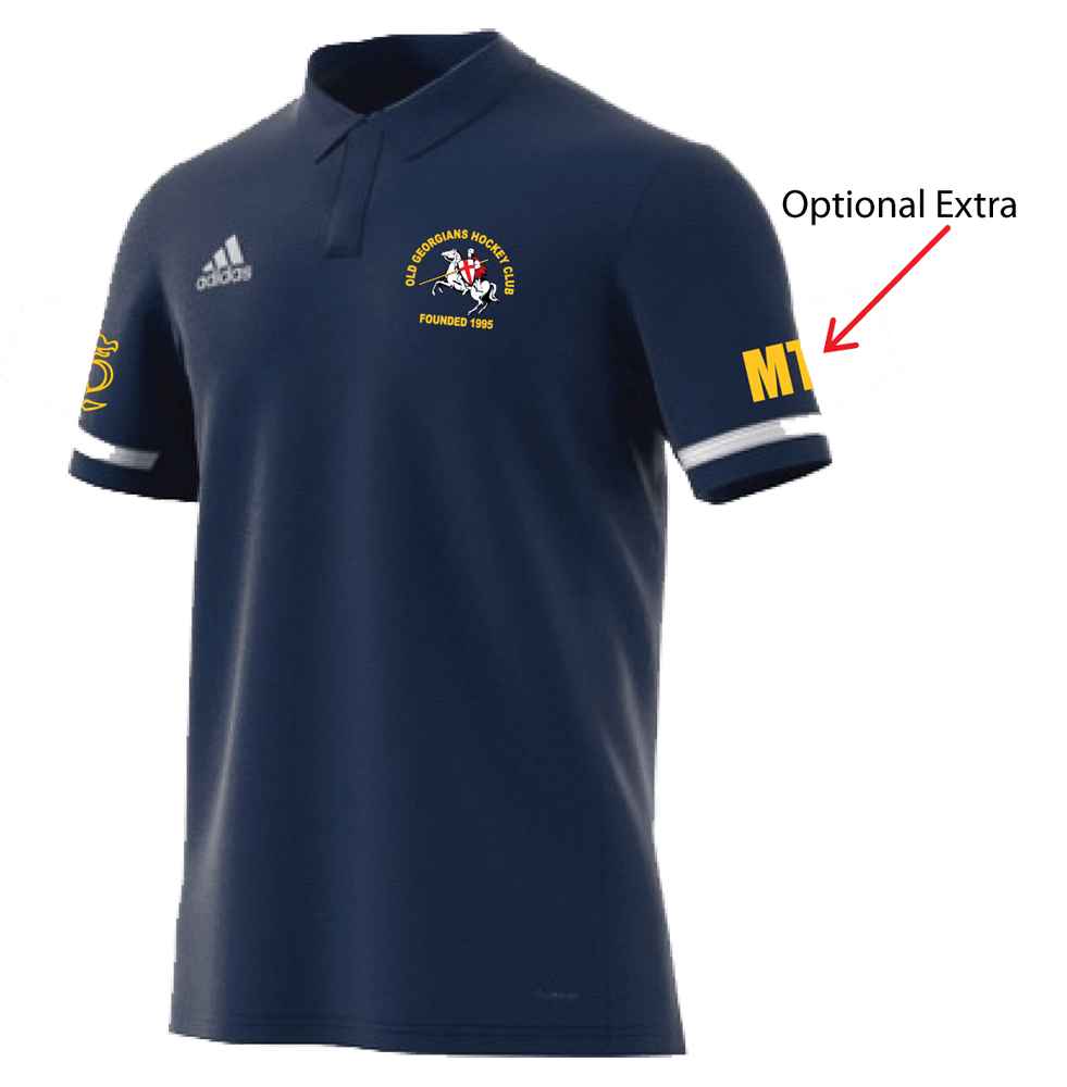 OGHC T19 Mens Adidas Polo Shirt - Navy