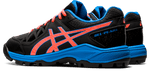 Asics Gel-Peak Black / Blue 2020 Pair Side