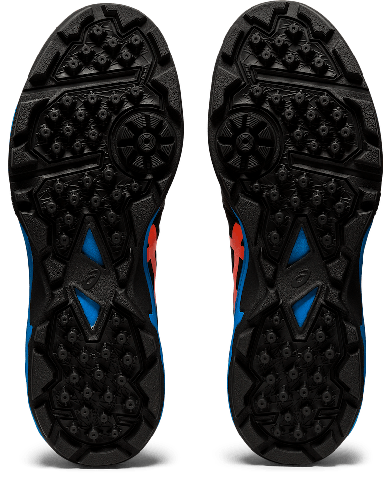Asics Gel-Peak Black / Blue 2020 Sole