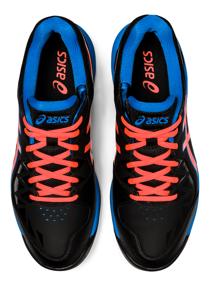 Asics Gel-Peak Black / Blue 2020 Top View