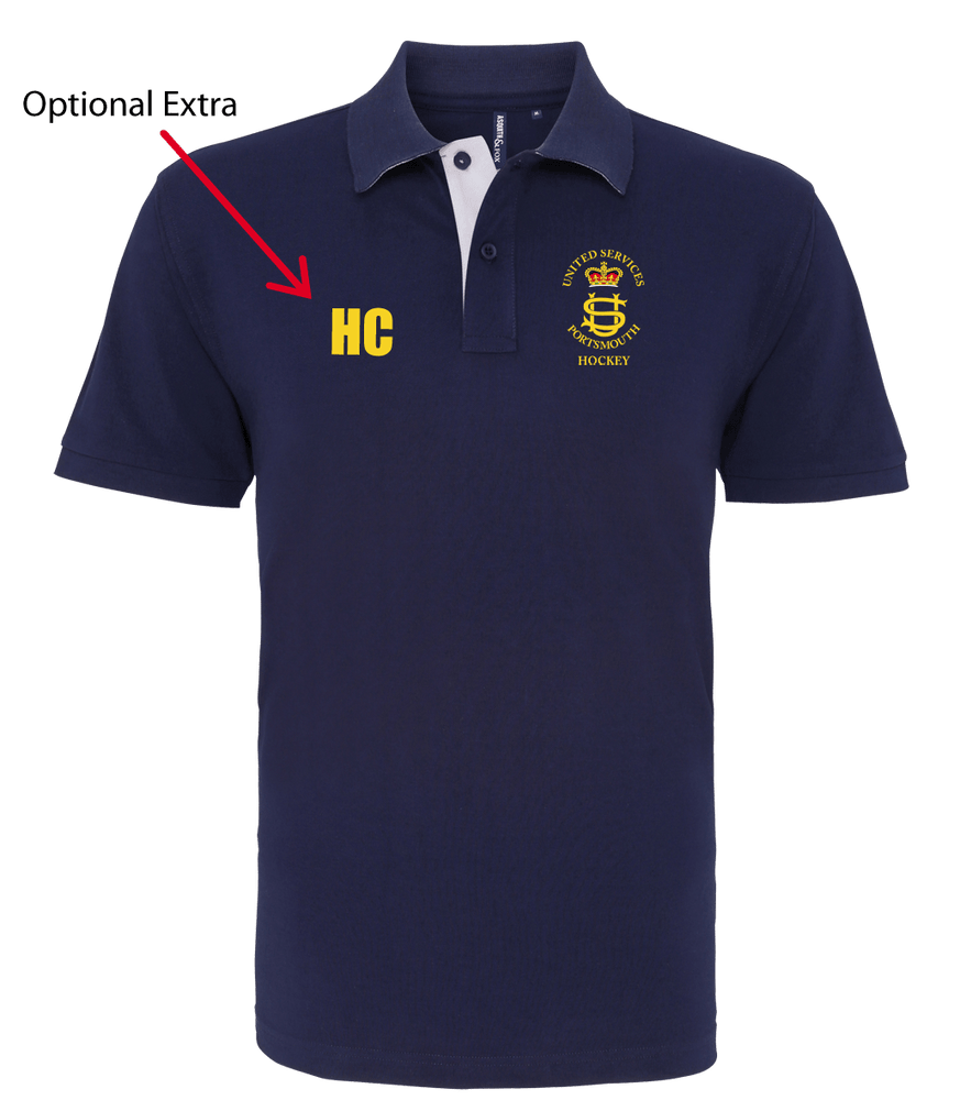 USP Mens Polo Shirt - Navy | The Hockey Centre