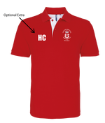 USP Mens Polo Shirt - Red | The Hockey Centre