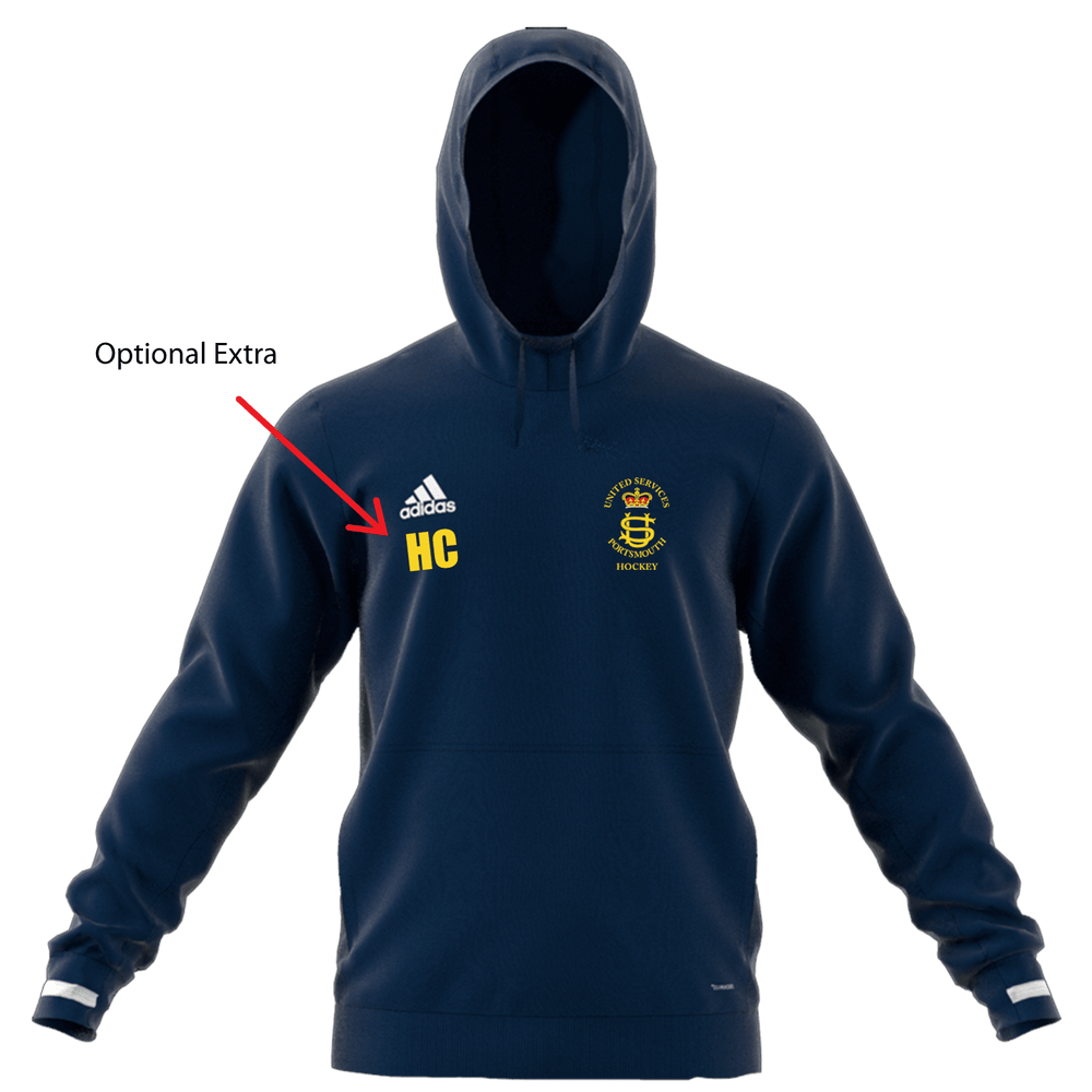 USP Mens Adidas Navy Hooded top