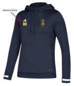 USP Womens Adidas Navy Hooded top | The Hockey Centre