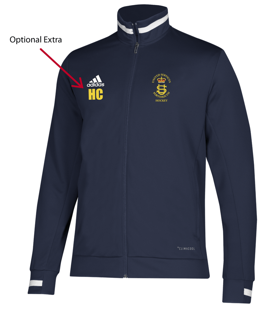 USP Mens Adidas Navy Track Jacket
