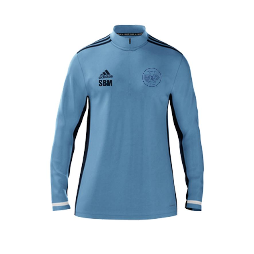 Woking HC Coaching LS 1/4 Zip Mid Layer | The Hockey Centre