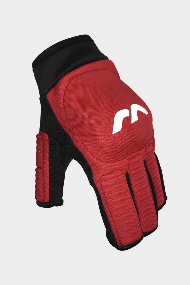 Evolution 0.1 Glove Red Left Hand | The Hockey Centre