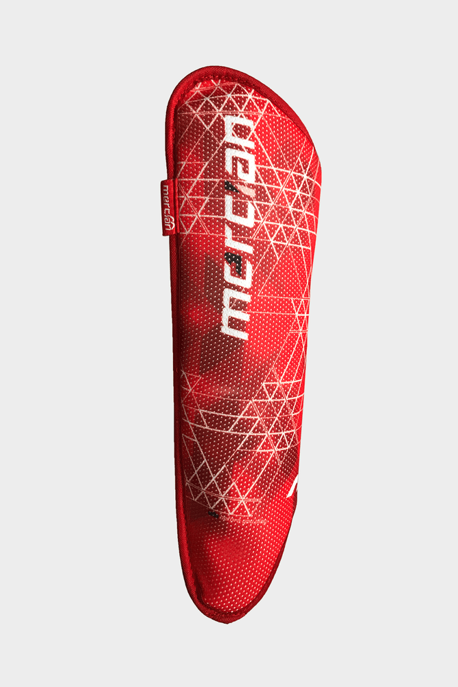 Evolution 0.1 Shin Pad Red (2019) | The Hockey Centre
