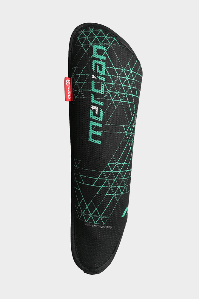 Mercian Evolution0.1 Shin Pads 2019 Black Mint Inner Side