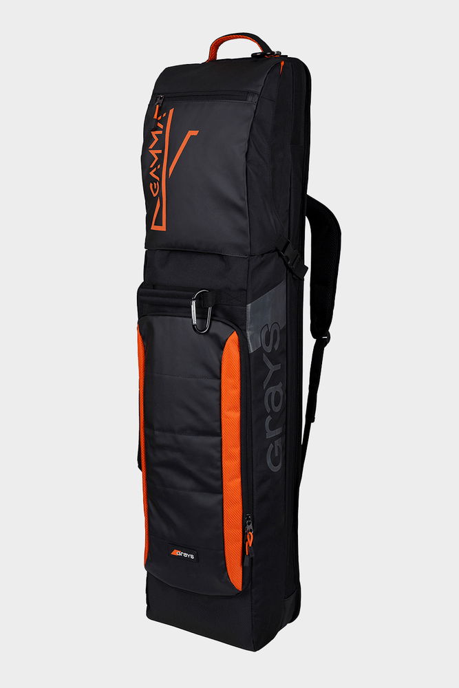 Grays Gamma Kitbag 2019 Black Orange Front