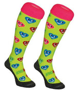 Hingly Hockey Socks Smiley Hearts