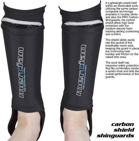 Mercian Carbon Shield Shinguards | The Hockey Centre