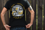 Load image into Gallery viewer, Bad News Travels Fast Ladies Tee