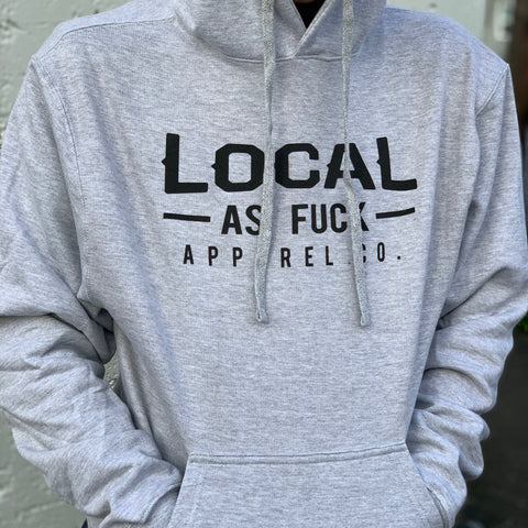 Local AF Stacked Pullover Hoodie