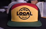 Load image into Gallery viewer, Classic Rasta 7 Panel Trucker Hat