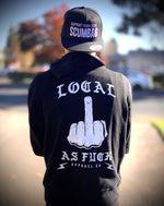 Load image into Gallery viewer, Local AF Middle Finger Pullover Hoodie