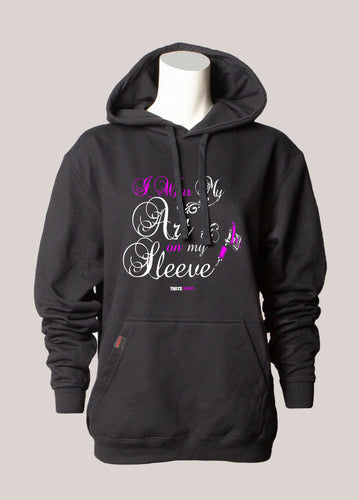 ART ON MY SLEEVE Women's Tattoo Hoodie