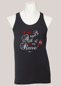 ART ON MY SLEEVE Men's Tattoo Tank