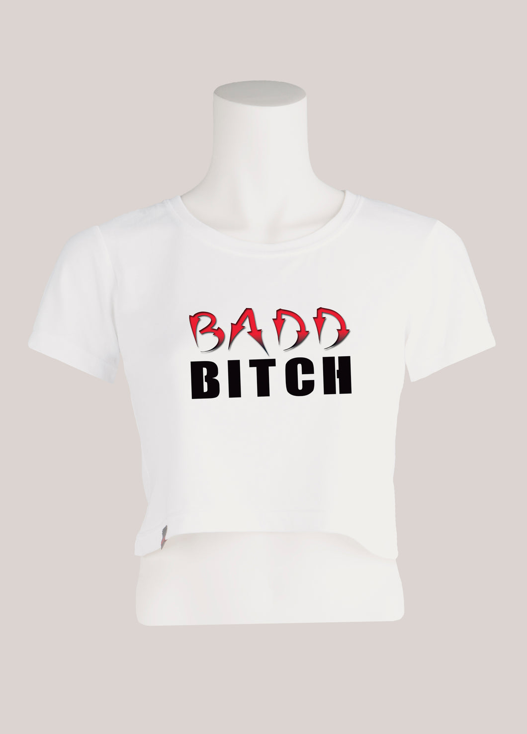 BADD BITCH Women's Cropped T-Shirt