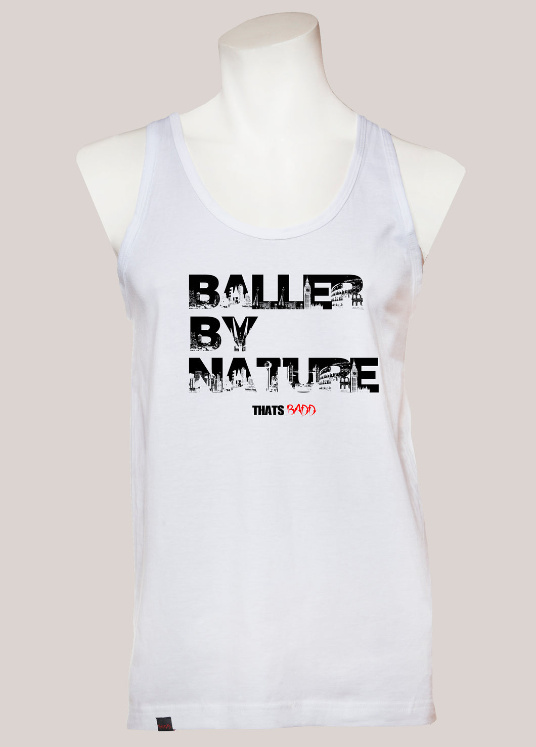 BALLER BY NATURE Men's Tank