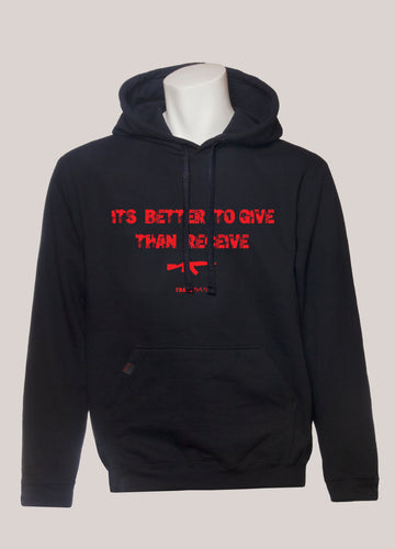 BETTER TO GIVE THAN RECEIVE Men's Hoodie
