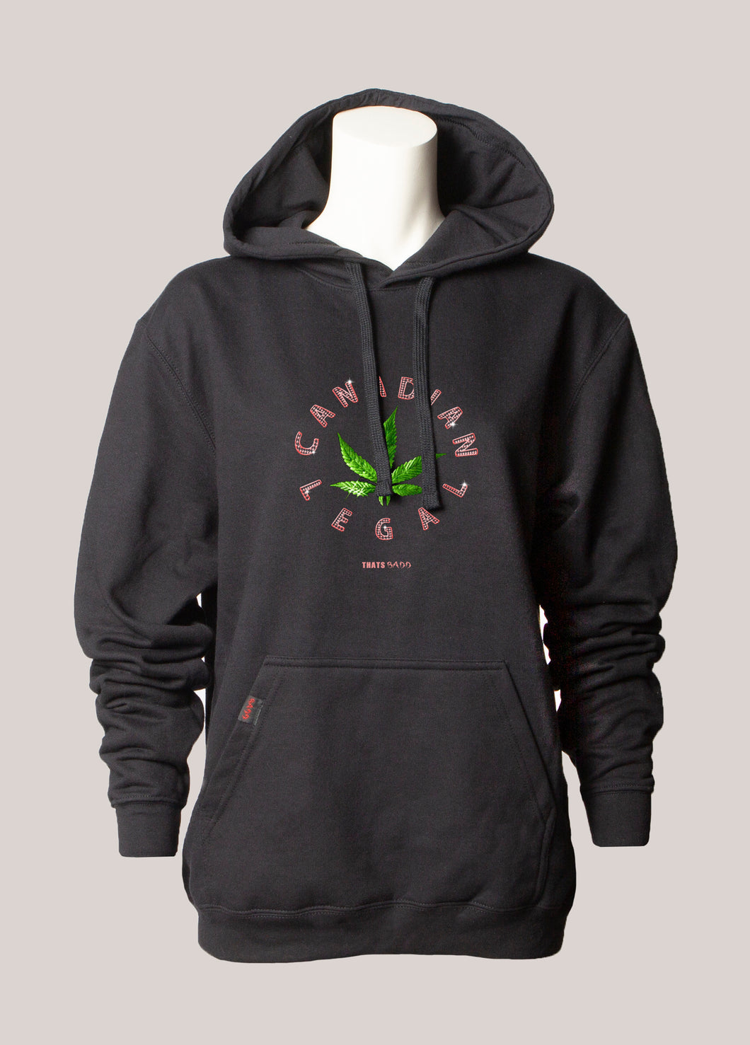 CANADIAN LEGAL Women's Marijuana Hoodie