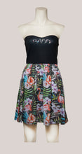 Load image into Gallery viewer, BADD Flower Print Strapless Dress