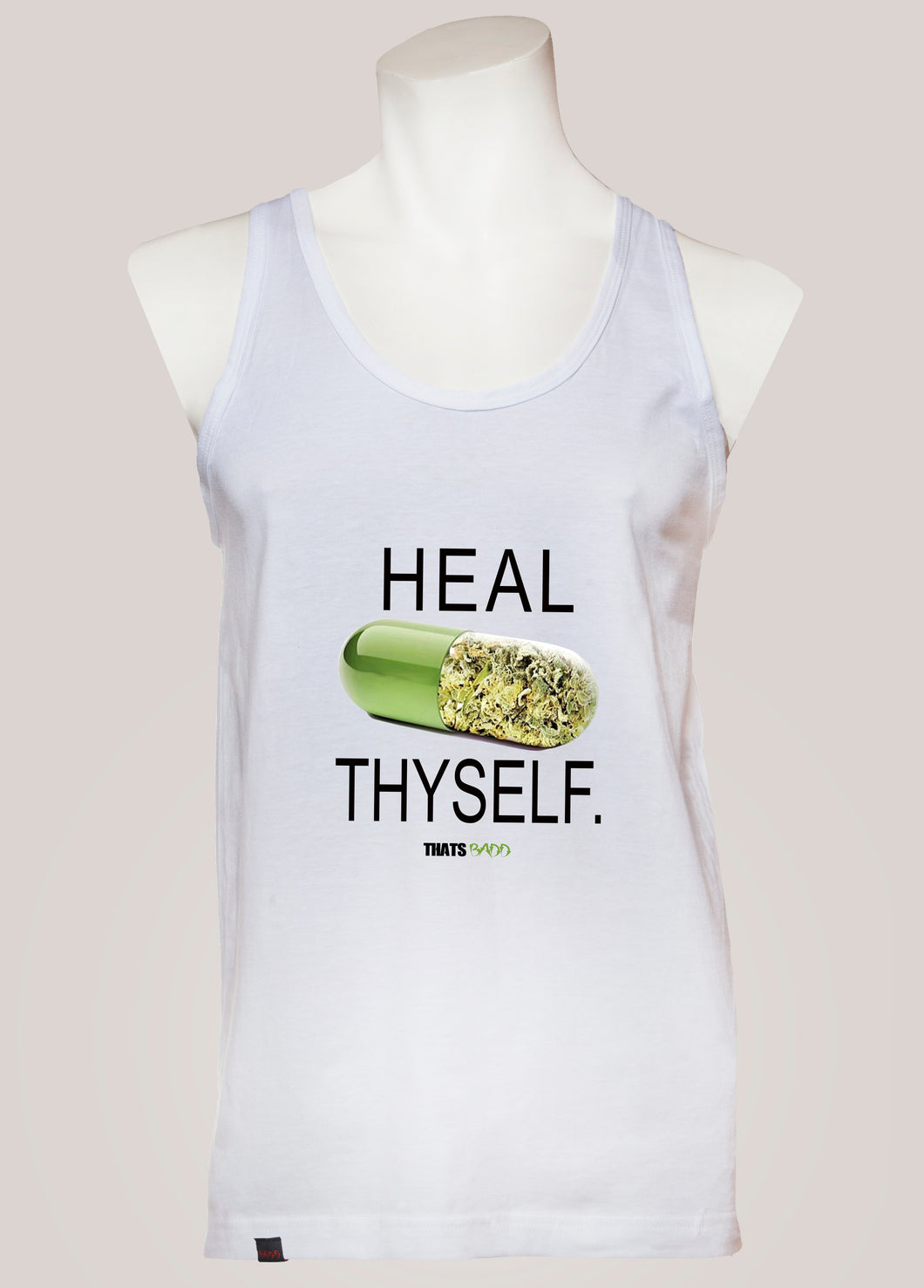 HEAL THYSELF Men's Marijuana Tank