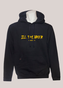 ILL THINKER THATS BADD Collab Hoodie- Yellow