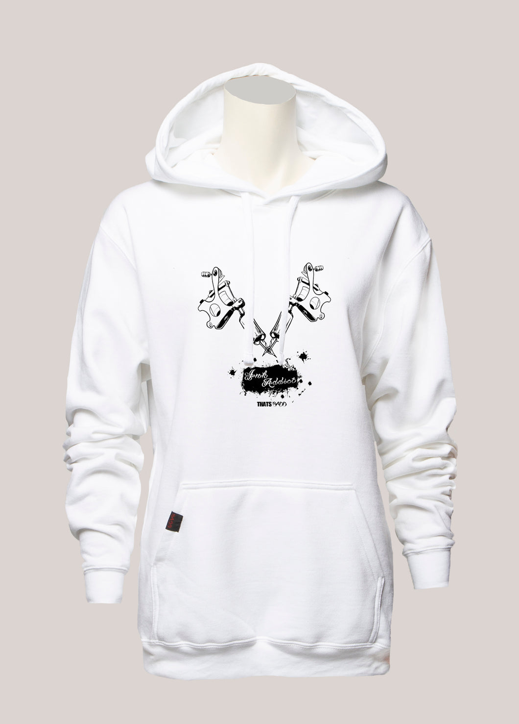 INK ADDICT Women's Tattoo Hoodie