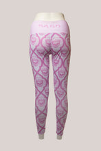 Load image into Gallery viewer, BADD All Over Skull Print Leggings Pink