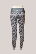 Load image into Gallery viewer, BADD All Over Skull Print Leggings Grey