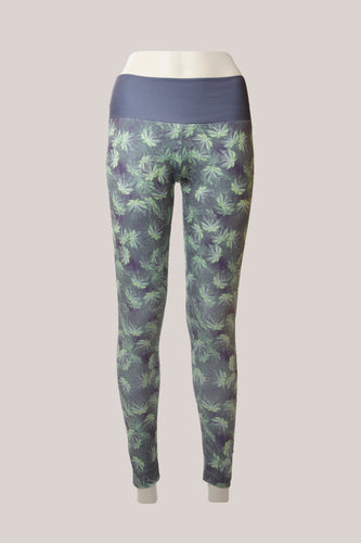 BADD All Over Marijuana Print Leggings