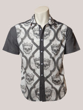 Load image into Gallery viewer, BADD Skull Print Men's Button-Up